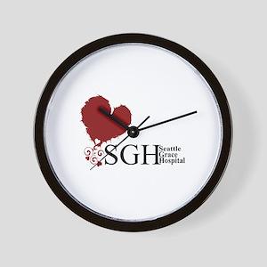 Seattle Grace Hospital Wall Clock