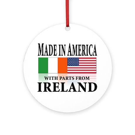 Irish American pride Ornament (Round)