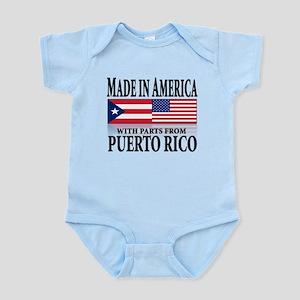 Puerto RICAN Infant Bodysuit