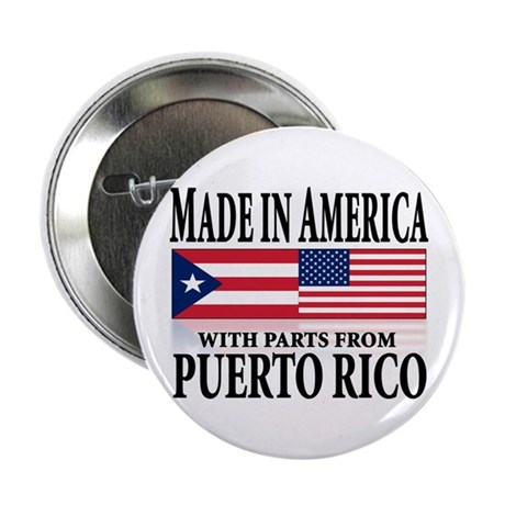"""Puerto RICAN 2.25"""" Button (100 pack)"""
