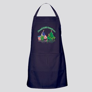 Irish American Apron (dark)