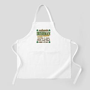 Irishman for Hire Apron