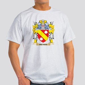 Pietras Family Crest - Coat of Arms T-Shirt