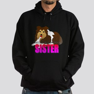 Shetland Sheepdog Sister Hoodie (dark)