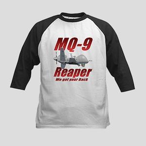MQ-9 Reaper Kids Baseball Jersey