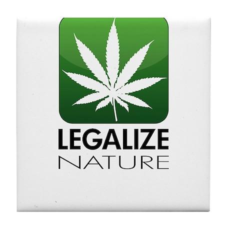 Legalize Nature Tile Coaster