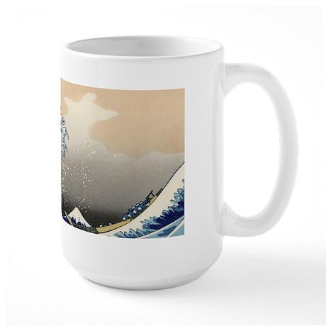 Great Wave Large Mug