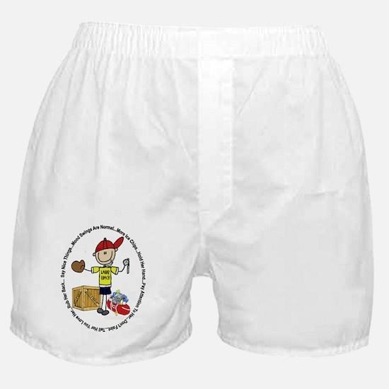 Cute Childbirth Boxer Shorts