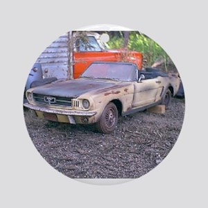 1966 Mustang Conv. Ornament (Round)