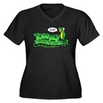 Tommy the Insulting Parrot Lo Women's Plus Size V-