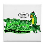 Tommy the Insulting Parrot Lo Tile Coaster