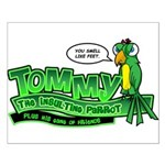 Tommy the Insulting Parrot Lo Small Poster
