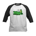 Tommy the Insulting Parrot Lo Kids Baseball Jersey