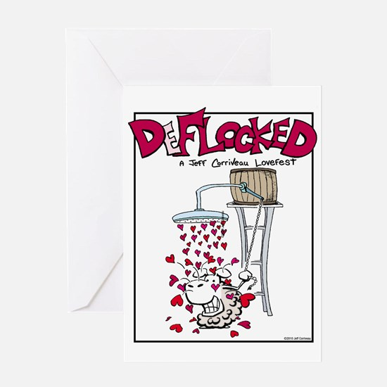 Mamet Hearts Greeting Card