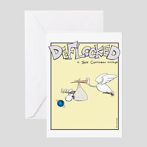 Mamet Stork Greeting Card
