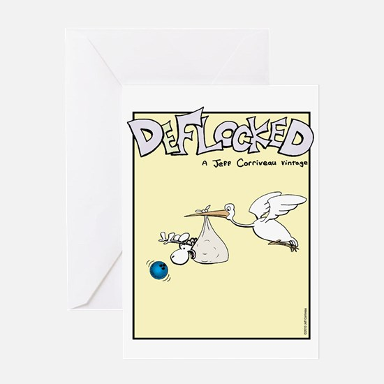 Mamet Stork Greeting Card