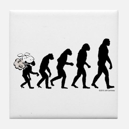 DeVolution Tile Coaster