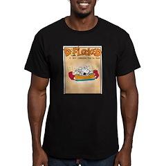 Mamet Lasagna Men's Fitted T-Shirt (dark)