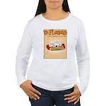 Mamet Lasagna Women's Long Sleeve T-Shirt