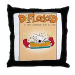 Mamet Lasagna Throw Pillow