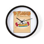 Mamet Lasagna Wall Clock