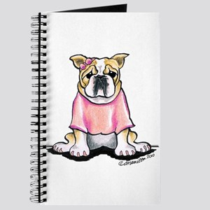Girly Bulldog Journal