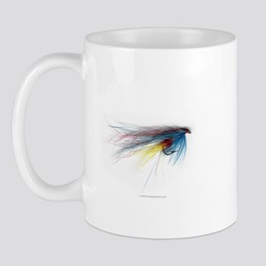 Silver Doctor Hairwing Fly Mug