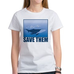 Save The Whales Women's T-Shirt