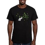 Mamet Money Men's Fitted T-Shirt (dark)