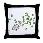 Mamet Money Throw Pillow