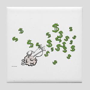 Mamet Money Tile Coaster