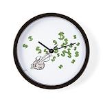 Mamet Money Wall Clock