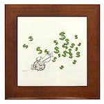 Mamet Money Framed Tile