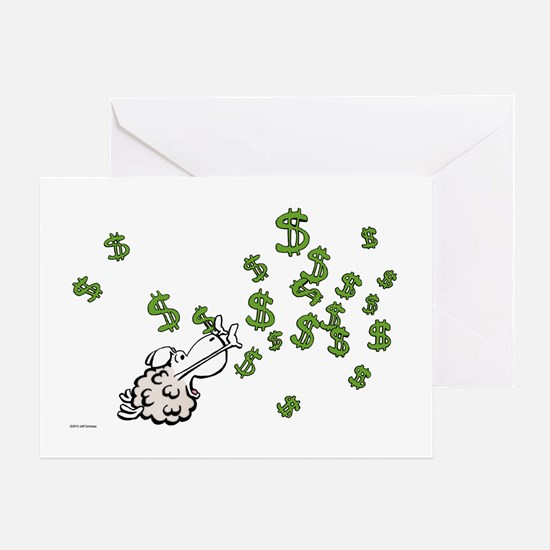 Mamet Money Greeting Card