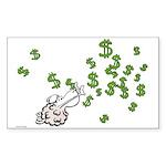 Mamet Money Sticker (Rectangle)