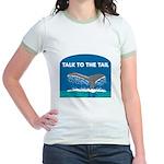 Whale Jr. Ringer T-Shirt