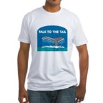 Whale Fitted T-Shirt