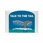 Whale Rectangle Magnet