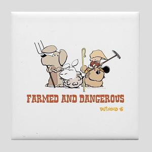 Farmed and Dangerous Tile Coaster