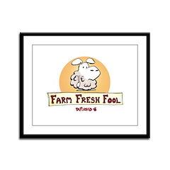 Farm Fresh Fool Framed Panel Print