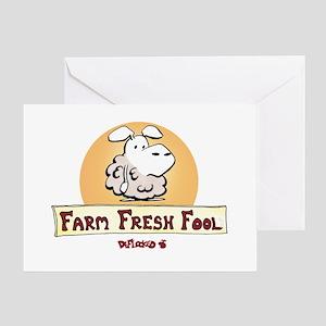 Farm Fresh Fool Greeting Card