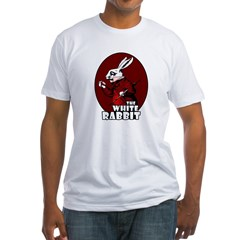 White Rabbit Logo Red Shirt