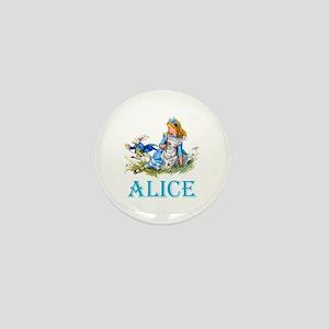 ALICE IN WONDERLAND - BLUE Mini Button