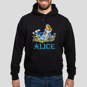 ALICE IN WONDERLAND - BLUE Hoodie (dark)