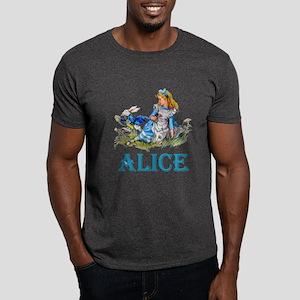 ALICE IN WONDERLAND - BLUE Dark T-Shirt