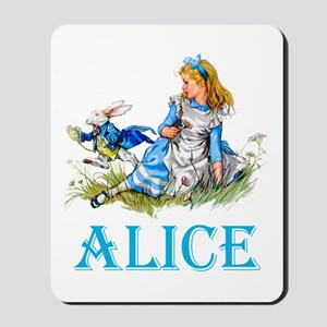 ALICE IN WONDERLAND - BLUE Mousepad