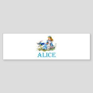 ALICE IN WONDERLAND - BLUE Sticker (Bumper)
