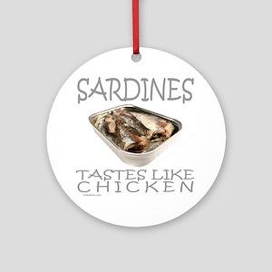 SARDINES Ornament (Round)