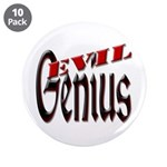 "Evil Genius 3.5"" Button (10 pack)"