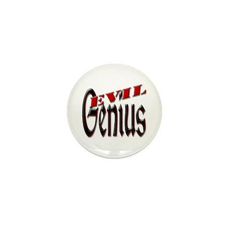 Evil Genius Mini Button (10 pack)